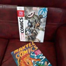 Cómics: MARVEL COMICS 75 AÑOS DE HISTORIA GRÁFICA - DK. Lote 270576918