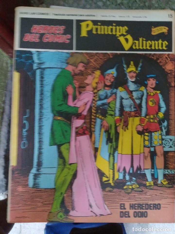 PRÍNCIPE VALIENTE Nº 15 (HÉROES DEL COMIC) - HAROLD FOSTER (Tebeos y Comics - Buru-Lan - Principe Valiente)