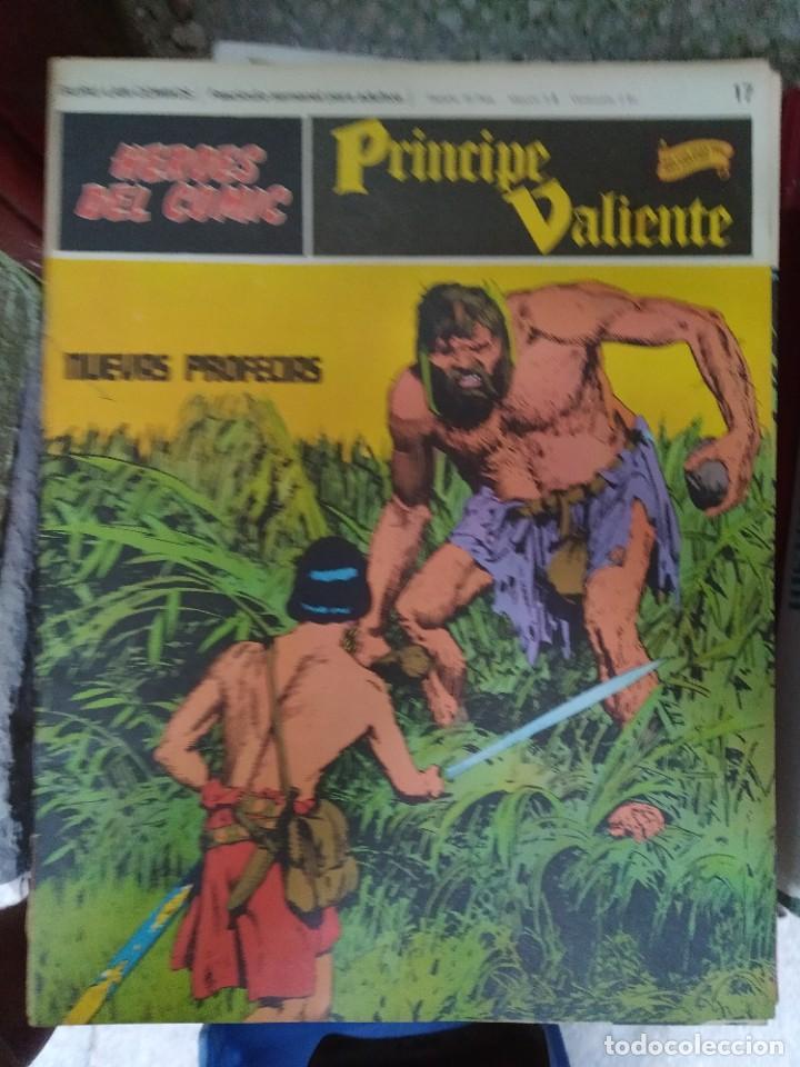 PRÍNCIPE VALIENTE Nº 17 (HÉROES DEL COMIC) - HAROLD FOSTER (Tebeos y Comics - Buru-Lan - Principe Valiente)