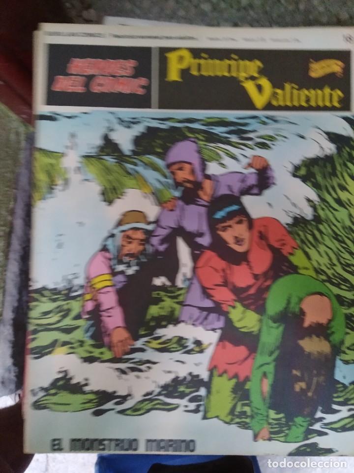 PRÍNCIPE VALIENTE Nº 18 (HÉROES DEL COMIC) - HAROLD FOSTER (Tebeos y Comics - Buru-Lan - Principe Valiente)