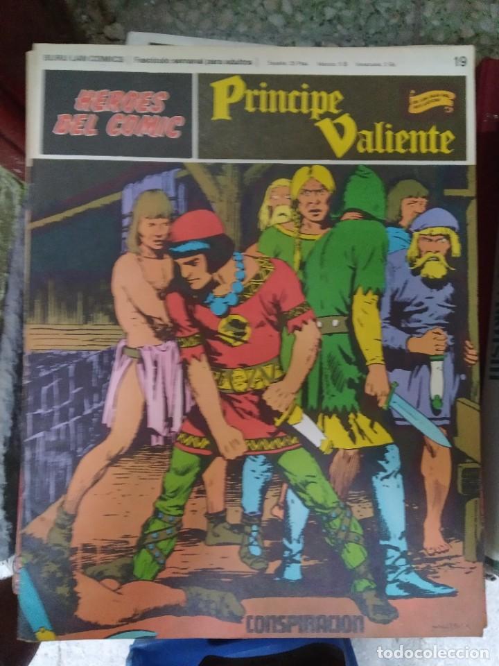 PRÍNCIPE VALIENTE Nº 19 (HÉROES DEL COMIC) - HAROLD FOSTER (Tebeos y Comics - Buru-Lan - Principe Valiente)