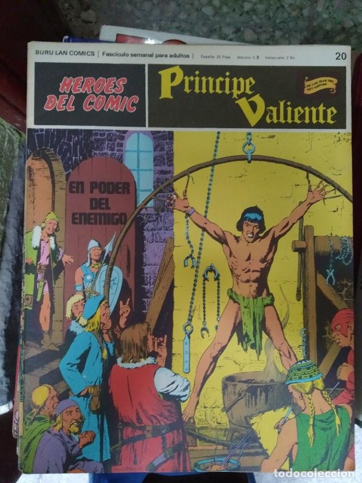 PRÍNCIPE VALIENTE Nº 20 (HÉROES DEL COMIC) - HAROLD FOSTER (Tebeos y Comics - Buru-Lan - Principe Valiente)