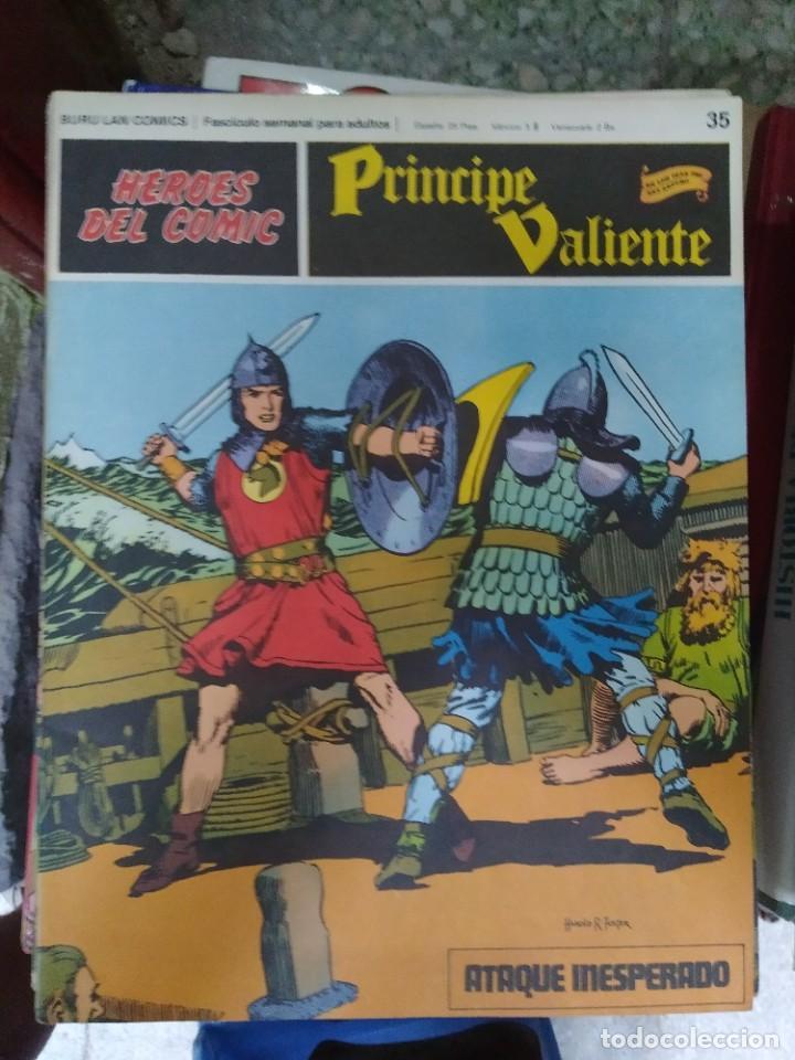 PRÍNCIPE VALIENTE Nº 35 (HÉROES DEL COMIC) - HAROLD FOSTER (Tebeos y Comics - Buru-Lan - Principe Valiente)
