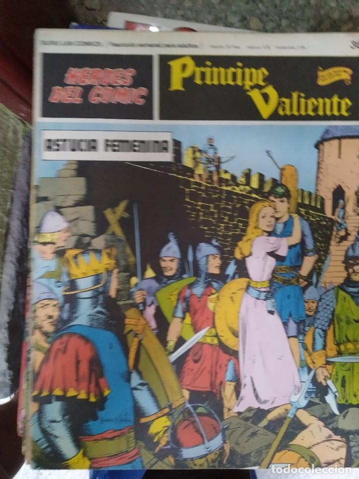 PRÍNCIPE VALIENTE Nº 36 (HÉROES DEL COMIC) - HAROLD FOSTER (Tebeos y Comics - Buru-Lan - Principe Valiente)