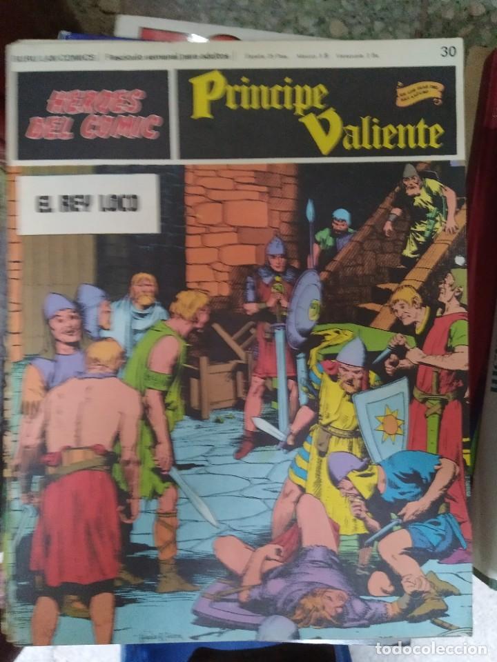 PRÍNCIPE VALIENTE Nº 30 (HÉROES DEL COMIC) - HAROLD FOSTER (Tebeos y Comics - Buru-Lan - Principe Valiente)