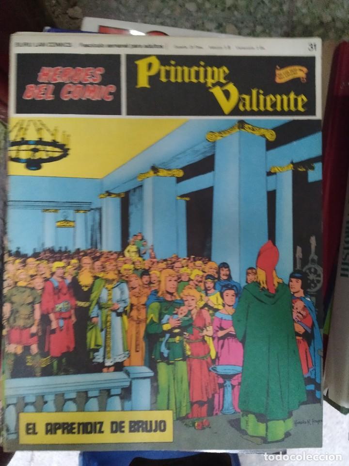 PRÍNCIPE VALIENTE Nº 31 (HÉROES DEL COMIC) - HAROLD FOSTER (Tebeos y Comics - Buru-Lan - Principe Valiente)