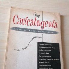 Cómics: RAS CARICATUGENIA. TEORÍA DE LA CARICATURA PERSONAL. EDUARDO ROBLES PIQUER, RAS-MARTÍN. DEDICADO. Lote 270911338