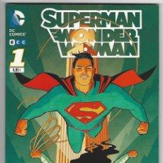 Cómics: ECC. SUPERMAN. WONDER WOMAN. 1. Lote 271237338