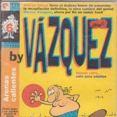 """Cómics: CÓMIC GLENAT """" ARENAS CALIENTES BY VAZQUEZ """" Nº 6 ( ADULTOS ). Lote 272011453"""