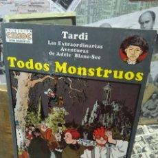 Comics: TODOS MONSTRUOS. TARDI.. Lote 272243623