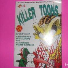 Cómics: KILLERS TOONS, NÚMERO 4, EDICIONES CANALLAS. Lote 273969568