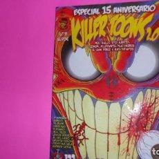 Cómics: KILLER TOONS 2.0, NÚMERO 2, ESPECIAL 15 ANIVERSARIO, EDICIONES CANALLAS. Lote 273971138