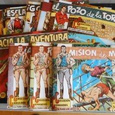 Cómics: LOTE DE 19 TEBEOS COLECCIÓN COMANDOS (ROY CLARK). REEDICCIÓN /C-1. Lote 274542328