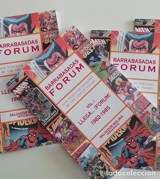 BARRABASADAS FORUM: LLEGA...¡FORUM! 1982-1985 . DISPONIBLE (Tebeos y Comics Pendientes de Clasificar)