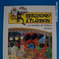 Cómics: COMIC DE MORTADELO Y FILEMON TAPA DURA LOS INVENTOS DEL... AÑO 2000 DE EDITORIAL PLURAL LOTE 34 A. Lote 275222758