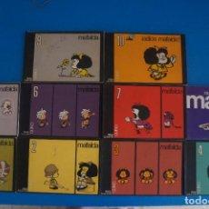 Cómics: LOTE DE 10 COMICS DE MAFALDA NUMEROS 1-10 DE QUINO AÑO 2005 DE EDITORIAL LUMEN. Lote 275227263