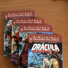 Comics: BIBLIOTECA GRANDES DEL CÓMIC DRÁCULA - #1, 2, 3 Y 4 - PLANETA DEAGOSTINI. Lote 275307303