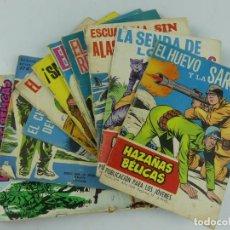 Cómics: COLECCION LOTE DE 10 COMICS HAZAÑAS BELICAS. Lote 275443413
