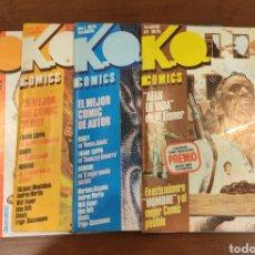 Cómics: KO COMICS 1A4 COMPLETA ED METROPOL. Lote 275601543