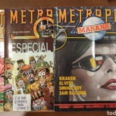 Cómics: METROPOL 3 NÚMEROS. Lote 275607193
