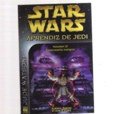 Cómics: STA WARS APRENDIZ DE JEDI VOLUMEN 12 EXPERIMENTO MALIGNO. Lote 275680338