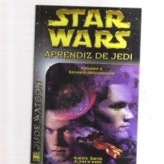 Cómics: STA WARS APRENDIZ DE JEDI VOLUMEN 6 SENDERO DESCONOCIDO. Lote 275681033