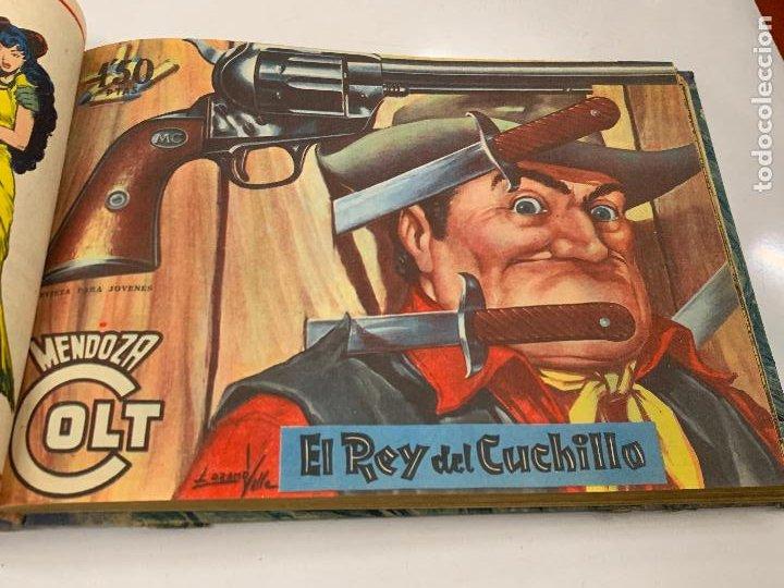 Cómics: Tomo 20 ejemplares originales MENDOZA COLT. 1958. Del 44 al 63. EDICOLOR. Excelente estado. Original - Foto 12 - 275734478