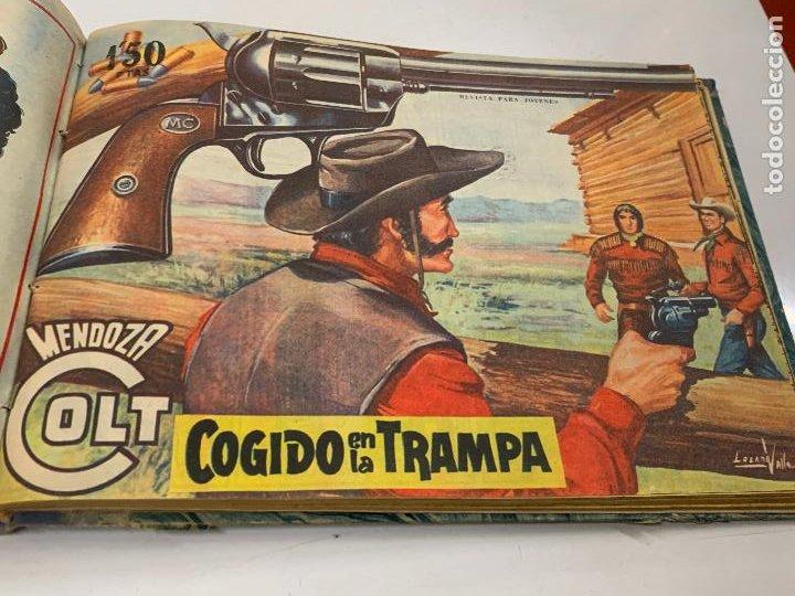 Cómics: Tomo 20 ejemplares originales MENDOZA COLT. 1958. Del 44 al 63. EDICOLOR. Excelente estado. Original - Foto 15 - 275734478