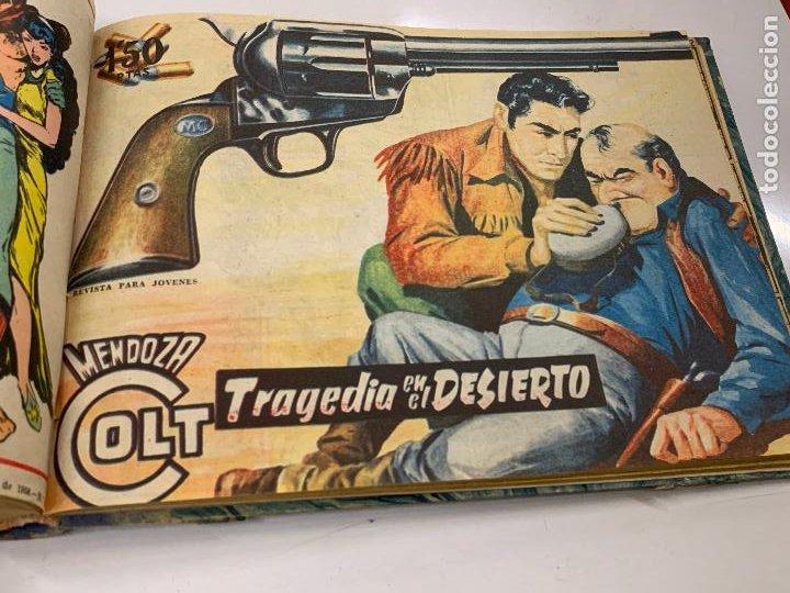 Cómics: Tomo 20 ejemplares originales MENDOZA COLT. 1958. Del 44 al 63. EDICOLOR. Excelente estado. Original - Foto 16 - 275734478