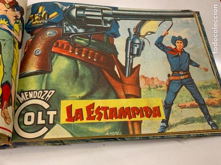 Cómics: Tomo 20 ejemplares originales MENDOZA COLT. 1958. Del 44 al 63. EDICOLOR. Excelente estado. Original - Foto 17 - 275734478