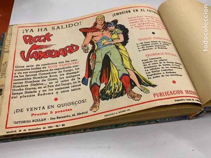 Cómics: Tomo 20 ejemplares originales MENDOZA COLT. 1958. Del 44 al 63. EDICOLOR. Excelente estado. Original - Foto 20 - 275734478