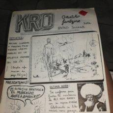 Cómics: COMIC VASCO KRO 1. Lote 275974478