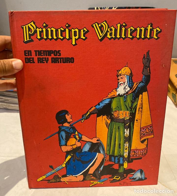 EL PRINCIPE VALIENTE. EN TIEMPOS DEL REY ARTURO. HAROLD FOSTER. TOMO 1. BURULAN (Tebeos y Comics - Buru-Lan - Principe Valiente)