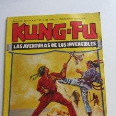 Comics: KUNG-FU Nº 29, SEGUNDA ÉPOCA, EDICIONES AMAIKA BERMEJO JOSE ORTIZ AMADOR GARCIA ARX107. Lote 276016138