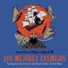 Fumetti: LOS MEJORES ENEMIGOS. PRIMERA PARTE 1783-1953 DAVID B. / JEAN-PIERRE FILIU NORMA. Lote 276027773