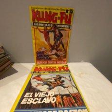 Cómics: KUNG - FU. LAS AVENTURAS DE LOS INVENCIBLES. EDITORIAL AMAIKA.7 NÚMEROS DEL 15 A 21 VE EN FOTOS. Lote 276049938