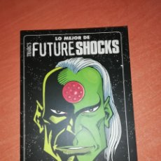 Cómics: LO MEJOR DE THARGS FUTURE SHOCKS ALAN MOORE KRAKEN ED. 2010 - NEIL GAIMAN - NUEVO. Lote 276094183