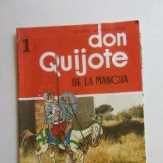 Comics: CERVANTES. DON QUIJOTE DE LA MANCHA (FASCÍCULO 1) ED. SEDMAY, 1979 CONSERVA EL POSTER ARX118. Lote 276113188