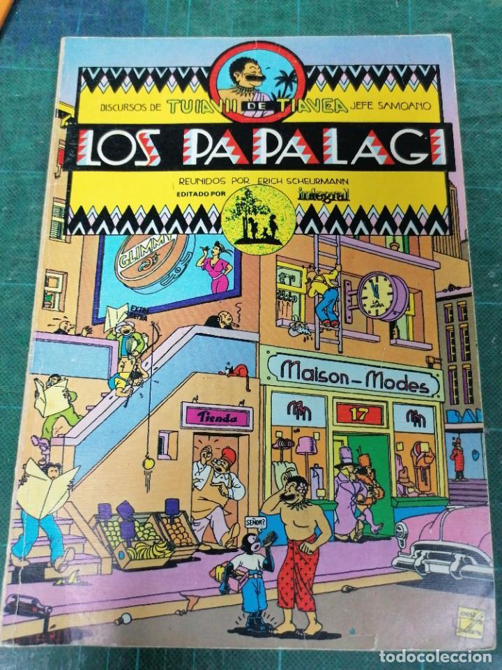 LOS PAPALAGI. LOS CÉLEBRES DISCURSOS DE UN JEFE SAMOANO (Tebeos y Comics Pendientes de Clasificar)