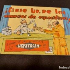 Cómics: ANTIGUO TEBEO-CUENTO PUBLICITARIO HEPATOSAN / ORIGINAL AÑOS 40' / PERFECTO.. Lote 276614973