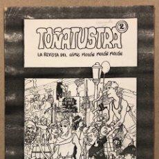 Cómics: TOÑATUSTRA N° 2 (GRANADA 1982). HISTÓRICO FANZINE ORIGINAL; VV.AA. HISTORIETAS.. Lote 276703753