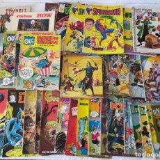 Comics: LOTE DE COMICS DIVERSOS. DISTINTAS ÉPOCAS Y EDITORIALES (BRUGUERA, FORUM, VERTICE....) - AÑOS 70/80.. Lote 276734153