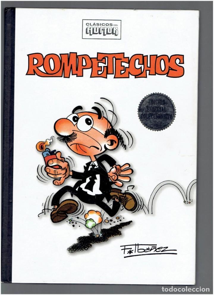 CLASICOS CLASICOS DEL HUMOR ROMPETECHOS F.IBAÑEZ RBA EDITORES 2009 COLECCIONABLES S.A. (Tebeos y Comics - Comics otras Editoriales Actuales)