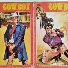 Cómics: LOTE 2 COMICS COW BOY Nº 2 Y 16 - MARCO IBERICA. Lote 276928003