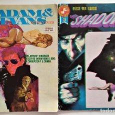 Cómics: LOTE 2 COMICS ROLLAN SERIE ROJA. ADAM & EVANS Nº 2 Y THE SHADOW Nº 3. Lote 276928383