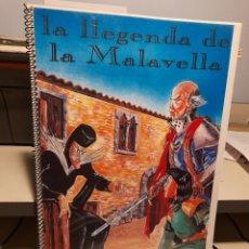 Cómics: COMIC LA LLEGENDA DE LA MALAVELLA ( CALDES DE MALAVELLA) PRUEBA DE IMPRENTA. Lote 276973813