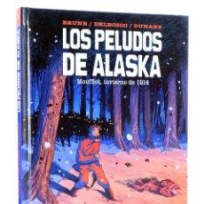 Cómics: LOS PELUDOS DE ALASKA (BRUNE / DELBOSCO / DUHAND) SPACEMAN BOOKS, 2015. OFRT ANTES 15E. Lote 276984528