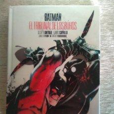 Cómics: BATMAN. EL TRIBUNAL DE LOS BUHOS. EDICIÓN DELUXE. ECC. CARTONÉ. Lote 277000353