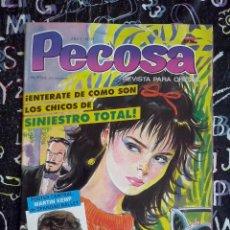 Cómics: MC - PECOSA AÑO I NUM. 31 . MUY BUEN ESTADO CON EL POSTER CENTRAL. Lote 277007628