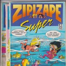 Cómics: SUPER ZIPI Y ZAPE. EDICIONES B. LOTE DE 3 EJEMPLARES: 2, 3 Y 14. Lote 277008683